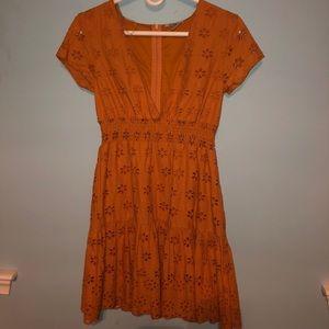 Charlotte Russe Burnt Orange Dress